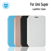 HYYT For UMI Super Super Euro Leather case Flip case Plastic cover for UMI Super Super Euro Cell Phone 4 colour Free Shipping(China)