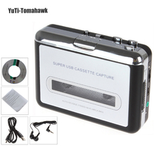 High Quality Portable USB Cassette Player Capture Cassette Recorder Converter Tape To MP3 Auto Reverse-Stereo-Hi-Fi-Mega Bass