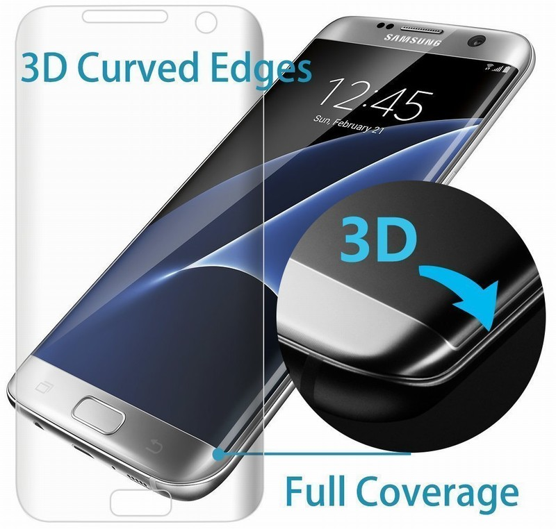 10PCS NYFundas Full 3D Coverage PET Film Curved Screen Protector for Samsung Galaxy S7 Edge S6 S8 Plus S8plus Screenprotector (3)