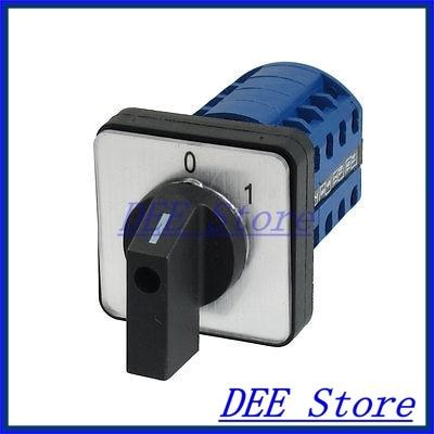 LW28-20/4-0-1 16 Screw Terminals 1-0-2 Position Changeover Switch<br><br>Aliexpress