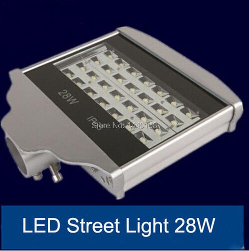 2pcs/lot 28w LED Street Light Waterproof 3 years Warranty LED Road  lighitng lamps AC85-265V IP65 street lamp flood light<br><br>Aliexpress