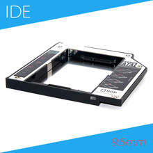 [Free DHL] Aluminum 9.5mm IDE to SATA Second HDD Caddy for IBM Lenovo ThinkPad T40 T41 T42 T43 T60 T61 - 10pcs