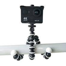 Mini Camera Accessories Octopus Tripod Monopod gorillapod Tripe Holder bracket Phone Clip Universal Accessories For GoPro Hero