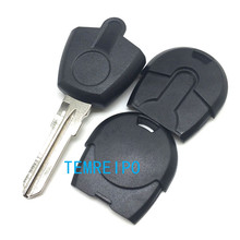 25pcs/lot New style Replacement Car Key For Fiat transponder Key Shell Blank Key No Chip Fob(China)