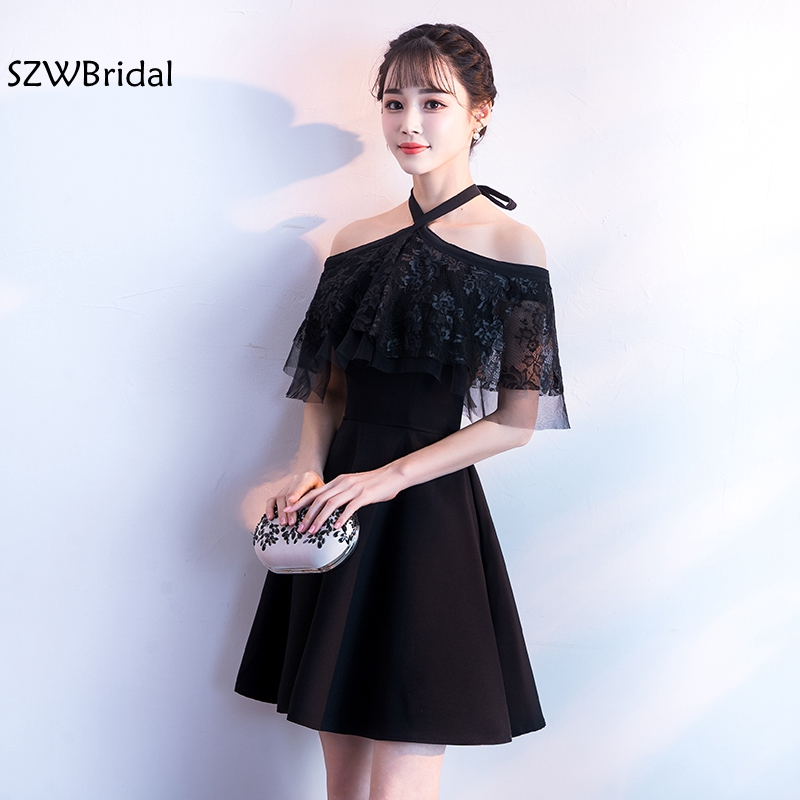 New Arrival Off the shoulder Short Cocktail dresses 2019 Vestido cocktail Party dress elegant Robe cocktail dress