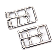 1 PCS Stainless steel cinch buckle horse rug fittings leather buckle saddlery buckle Outdoor Tools High Quality(China)