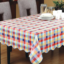 1European waterproof & oil PVC party table cloth exquisite hotel home decoration luxury table cloth wild thick placemat(China)