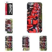 For Apple iPhone 4 4S 5 5C SE 6 6S 7 7S Plus 4.7 5.5 Soft TPU Silicon Protective Cover Case Bmc Racing Cycling Bike Team