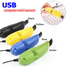 Cute Mini USB Vacuum Keyboard Cleaner Dust Collector Cleaning Brush for PC Laptop Desktop Notebook