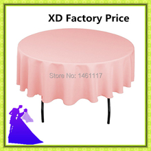 "20pcs90 "" 100%polyester various colors  table cloth  for sale  washable and reasonable"