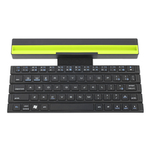 R4 Wireless Keyboard Bluetooth Foldable Keyboard Portable Handheld Keyboard with LED Light for Window Macbook air pro laptop PC(China)