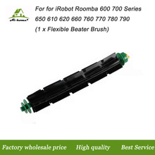 New High Quality Flexible Beater Brush for iRobot Roomba 500 Series 510 530 535 540 550 560 570 580 Robotic Vacuum Cleaner Parts(China)