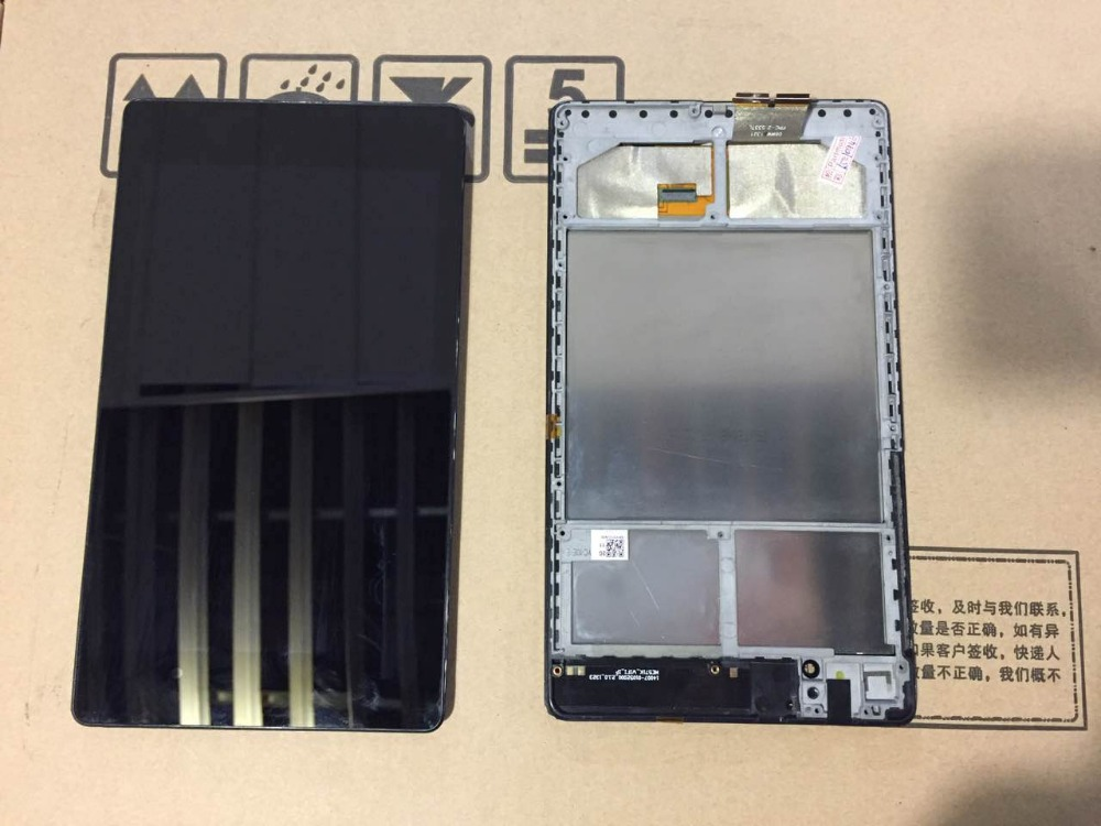 For ASUS Google Nexus 7 II 2nd Tab 2 LCD Screen Display with Touch Screen digitizer Assembly + frame; 100% working<br>