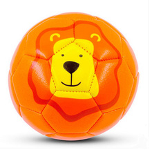 Hot High Quality Kids Children PVC Soccer Ball Football #2 Lovely Kindergarten Small Football Gift Fits 0-4 Years Random Color(China)