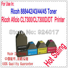 Color Laser Toner Cartridge Compatible With Ricoh Aficio CL7300 Printer,For Ricoh Toner Refill CL 7300,For Ricoh 888442 888443