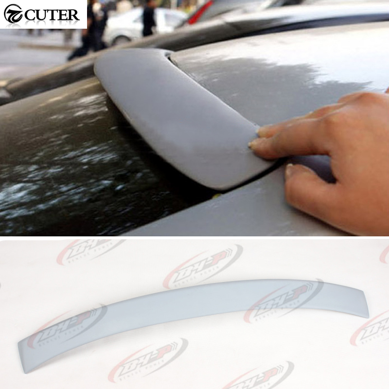 High quality E36 4D Style FRP Unpainted Grey Primer Auto Car Spoiler Roof Wing Spoiler For BMW E36 4D 91-97<br><br>Aliexpress