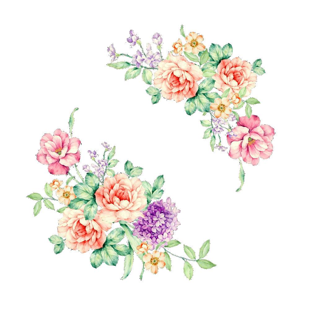 HTB1e8ruaesAV1JjSZFsq6ydZXXan - Colorful Flowers 3D Wall Stickers Beautiful Peony Fridge Stickers Wardrobe Toilet Bathroom Decoration PVC Wall Decals/Adhesive