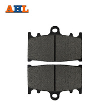 AHL Motorcycle Brake Front Pads For KAWASAKI ZZR 1100 ZZR1100 (ZX 1100 C1-C3) (D1-D9) 1990-2001 Motorbike Parts FA158