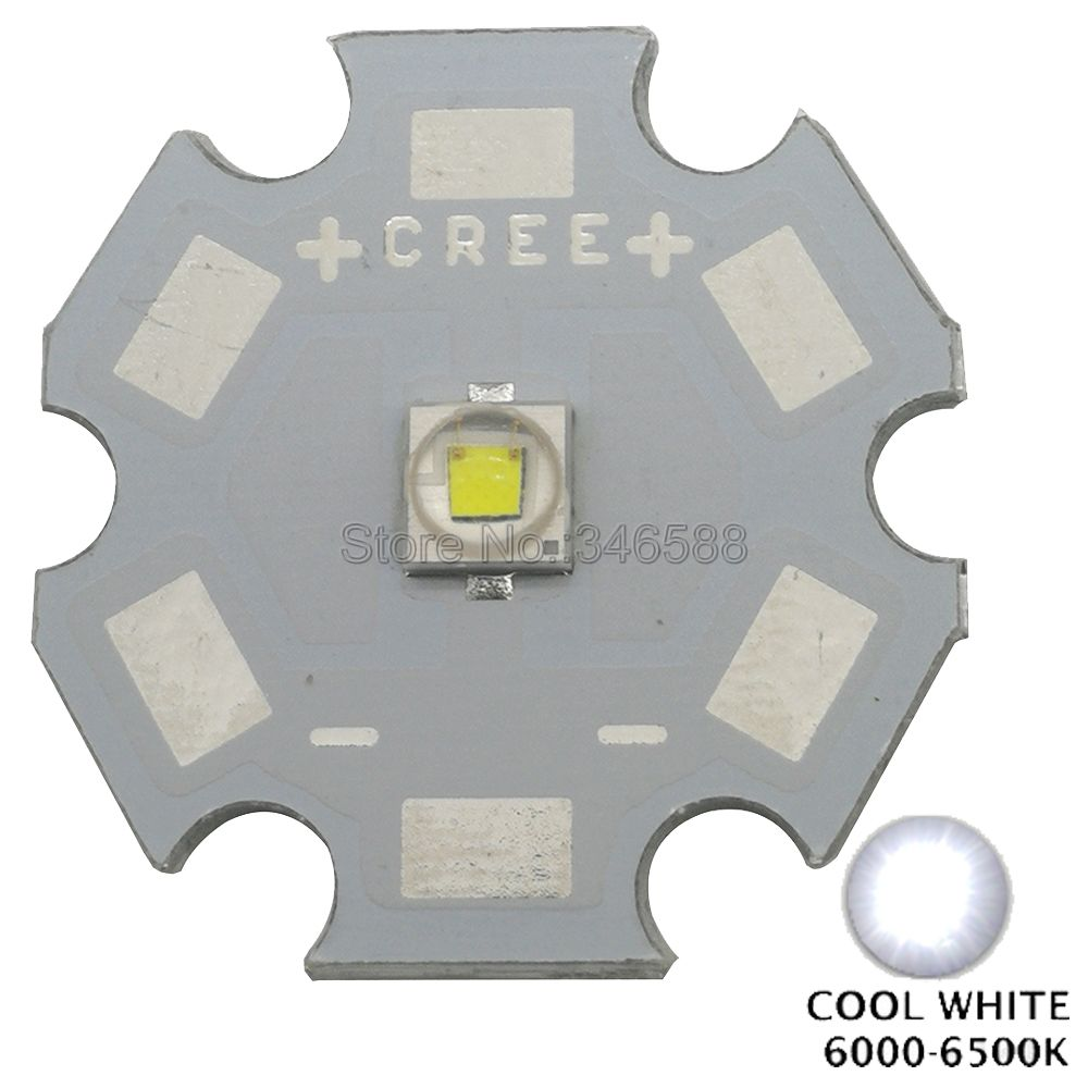 10pcs 1W 3W 20mm Cree XLamp XPE XP-E 450nm~455nm Royal Blue High Power LED Light