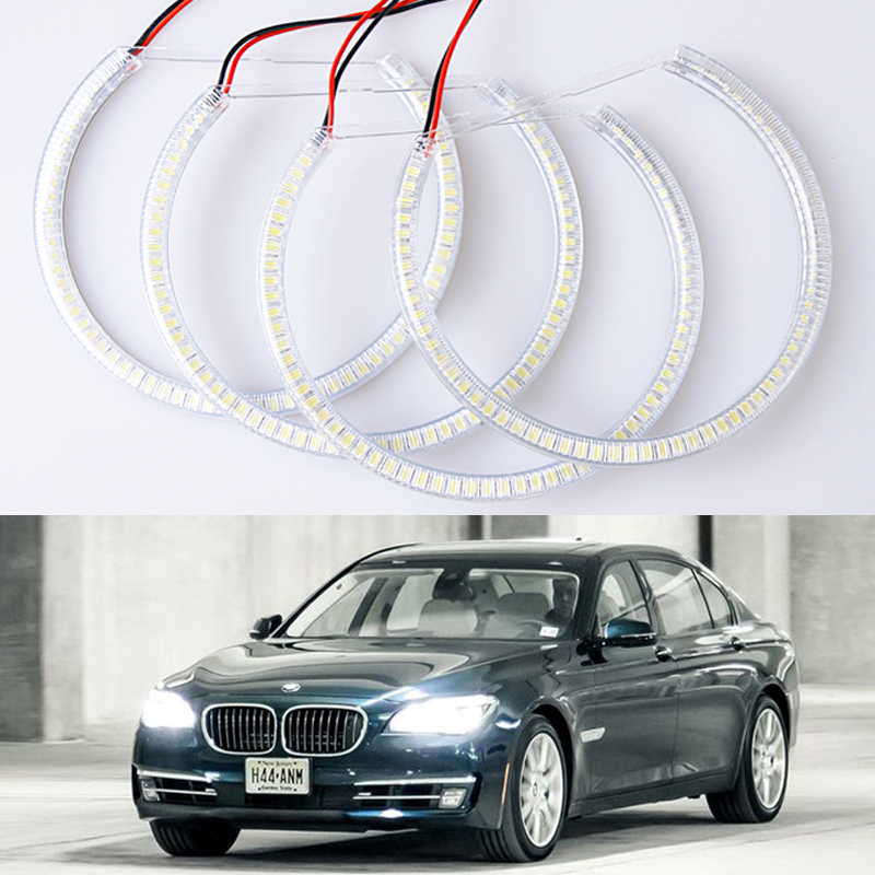 New car styling LED Headlight For E46 vorfacelift 1998~2001 SMD Angel Eyes auto replacement accessory fast delivery<br><br>Aliexpress