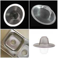 Hot sale Install Stainless Bath Kitchen Waste Sink Strainer Filter Net Drain Hair Stopper Home Use