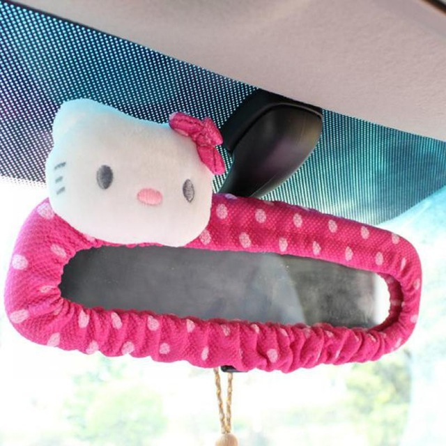 Pink-Car-Styling-Car-Seat-Covers-Interior-Accessories-Hello-Kitty-Car-Steering-Wheel-Cover-Handbrake-Gears.jpg_640x640(7)