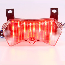 KT Motorcycle Tail Light Brake Light for Kawasaki Z1000 2003 2006 Turn Signal Tail Light Ninja 6R Motorcycle Accessories(China)