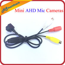 HD AHD Audio MIC Cam 960P 1.3MP 3.7mm Lens Mini-box CCTV Security BNC Camera For AHD DVR system