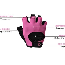 Free shipping,pink New Brand women tactical gloves,military,professional men fingerless gloves,biker,fitness pink(China)
