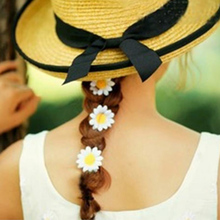 Daisy Bobby Pins Metal Flower Hair Clip Women Fashion Style Hairpin Korean Style Hair Clips For Women Girls Hair Accessories