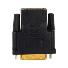 Gold Plated DVI 24+1 to HDMI Convert Male to Female Adapter Converter Cable Cabo for HDTV LCD(China)