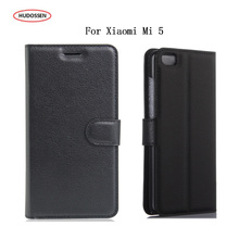 Buy HUDOSSEN Xiaomi Mi 5 / M5 Cover Luxury Wallet Phone Shell Bag Case Xiaomi Mi5 Flip Leather Stand Card Slots Coque for $3.89 in AliExpress store