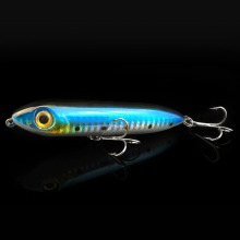 1PCS Fishing Floating Pencil Lure Hard Bait Long Range Attack Casting Steel Balls Lures 9.5cm/14g Pesca Leurre Souple Peche Fish(China)