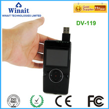 "Portable mini digital video camera DV119 5.0mp 4X digital zoom HDMI mini port 2.0"" LCD display cheap camcorder(China)"