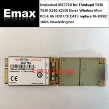 Unclocked MC7710 for Thinkapd T430 T530 X230 X230I New Original Sierra Wireless Mini PCI-E 4G FDD LTE CAT3 JINYUSHI stock