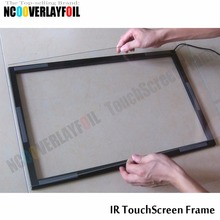 "Free Shipping 19"" 5:4 Ratio IR Touch Screen Panel 4 Touch Points High Sensitivity With Glass  For Interactive LCD Monitor"