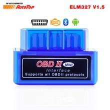 OBD2 Bluetooth Adapter ELM 327 V 1.5 Bluetooth ODB 2 Car Diagnostic Scanner ELM327 V1.5 OBD 2 ODB2 Autoscanner Russian-speaking