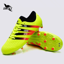 Scarpe Da Calcio 3 Color Professional Mens Ag Soccer Shoes 2017 New Top Football Boots Superfly Cleats Cheap Sneakers 38-44(China)