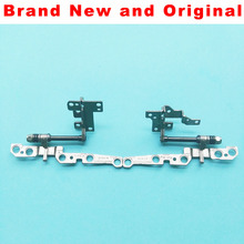 NEW Original LCD Hinges For LENOVO Y700-17 Left + Right LCD screen hinges AM0ZF000200 AM0ZF000300(China)