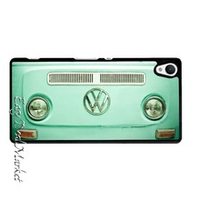 Vintage Volkswagen Bus Cover Case for Sony xperia Z Z1 Z2 Z3 Z4 Z5 Compact C C3 C4 C5 M2 M4 T2 T3 E4 X XA Performance