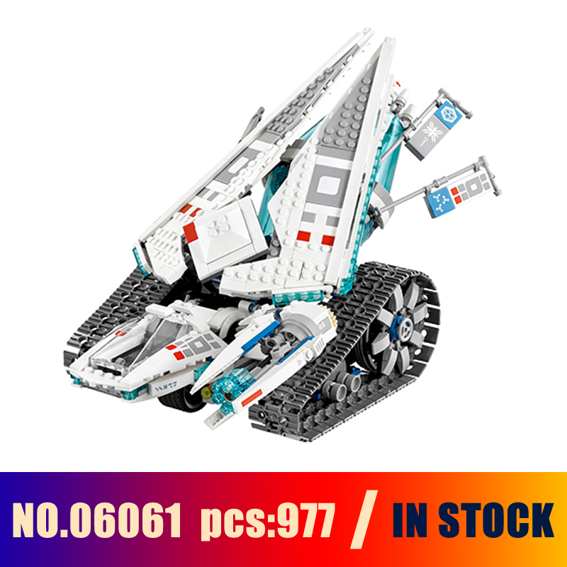 Models Building Toy Ninjago Ice Tank Figure 06061 977pcs Building Blocks Compatible Lego Ninjago 70616 Toys &amp; Hobbies<br>
