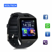 SCELTECH Smart Watch Digital DZ09 Wrist with Men Bluetooth Electronics SIM Card Sport Smartwatch camera For iPhone Android Phone