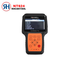 NEW Foxwell NT624 AutoMaster Pro All Makes All Systems Scanner Foxwell NT624 Engine Transmission ABS Airbag OBD2 Diagnostic Tool