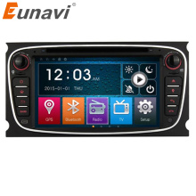 Eunavi 7 Inch 2 DIN Car DVD Radio Audio for Ford focus Mondeo S-max Kuga GPS Navigation with HD screen,Canbus,Capacitive Screen(China)
