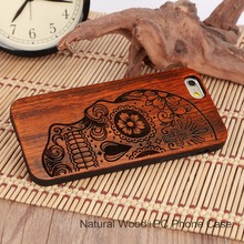 U&I Luxury Ultra Slim TPU Wood Phone Case For Iphone 5 5S 6 6S 6Plus 6S Plus 7 7Plus soft TPU 4 sides can protect mobile phone(China)