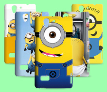 Despicable Me TPU Case For OPPO Find Mirror R819 A11W A30 A35/F1 Yellow Minions skin For OPPO A31T R1207 A31C A33T A33 A37 A37M(China)