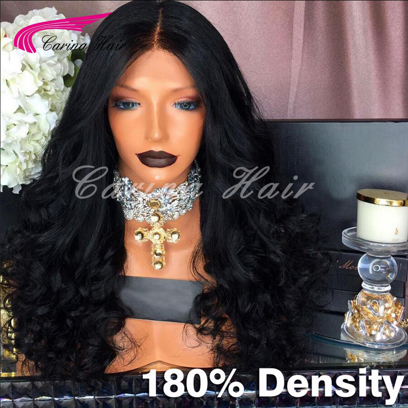 180 Density Full Lace Wig Wavy Glueless Virgin Malaysian Full Lace Human Hair Wigs With Baby Hair For Black Women Lace Front Wig<br><br>Aliexpress