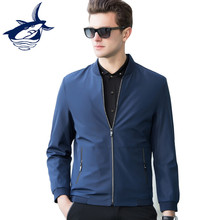 New 2018 Casual & Business Jacket Men High Quality Zipper Slim Fit Tace & Shark Men's Spring Jacket Coat Asian Size(China)