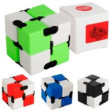 LeadingStar Infinitely Changing Magic Cube Folding Cube for Autism and ADHD Relief Focus Anxiety Pressure Reduction Gift zk30(China)