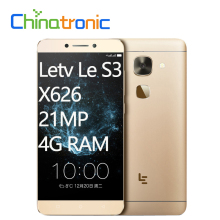"Original LeEco Le S3 Letv X626 MetalBody Android 6.0 FDD LTE Mobile Phone Deca Core 2.3G Dual SIM 5.5""FHD 4G RAM 21M FingerPrint(China)"